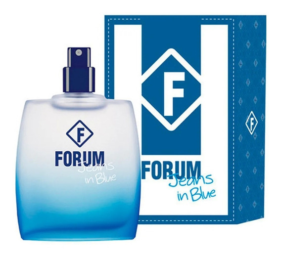 Perfume Forum Jeans In Blue 50 Ml - Sem Celofane - Original