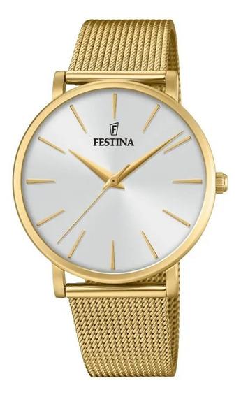 Relógio Festina Feminino Dourado F20476/1