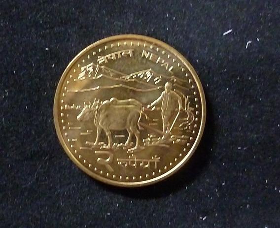 Nepal Moneda Gyanendra Bir Bikram 2 Rupias 2006