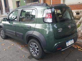 Fiat Uno Way 1.4 Full Verde 28.000 Km Año 2016