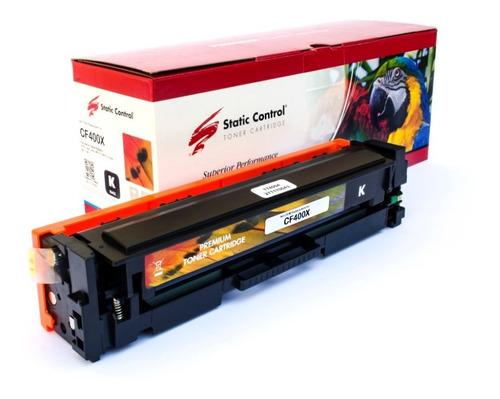 Cartucho Toner Hp Cf400x Alternativo Static Control Black