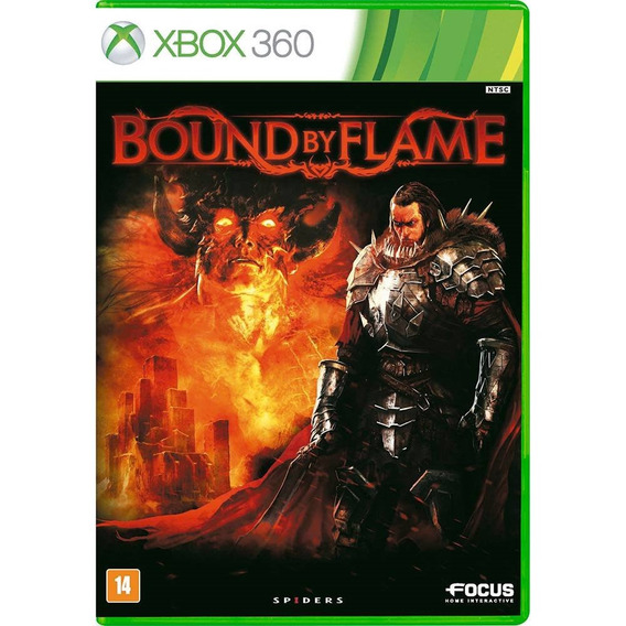 Bound By Flame Para Xbox 360 - Spiders Studio Novo, Lacrado