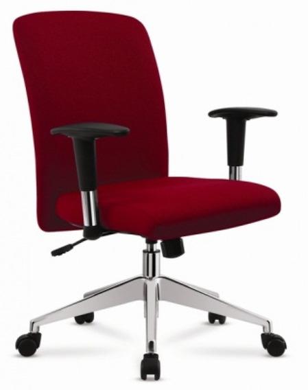 Cadeira De Escritório Giratória Diretor Vermelho - Cercatto