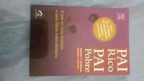Livro Pai Rico Pai Pobre - Robert T. Kiyosaki - Usado