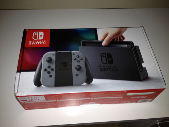 Nintendo Switch Sem Dock + 10 Jogos Originais + Sd 64gb