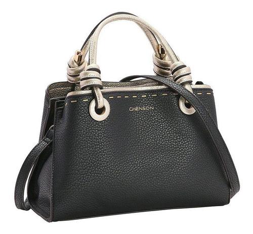 Bolsa Chenson Detalhe Dourado 3482985