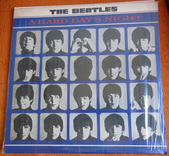 Lp The Beatles A Hard Day