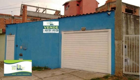 Casa Residencial À Venda, Jardim Luiza, Franco Da Rocha. - Ca0124