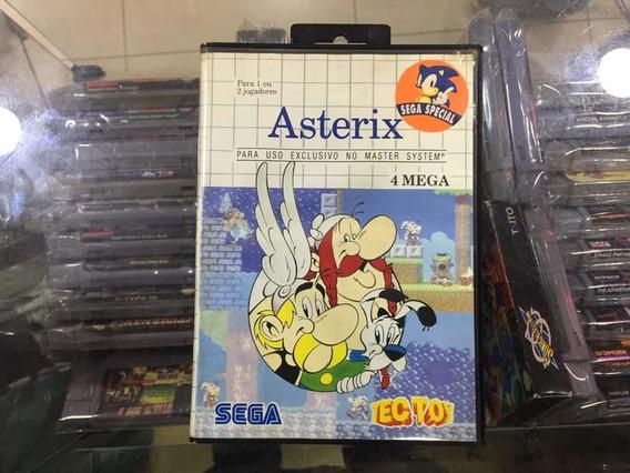 Asterix - Original Tectoy Master System Jogo Usado