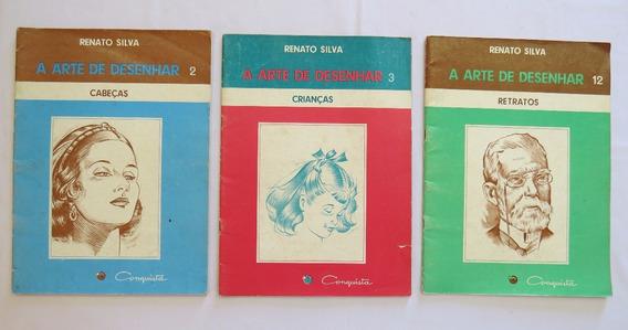 7 Livros A Arte De Desenhar Renato Silva- Quadrinhos Mulher