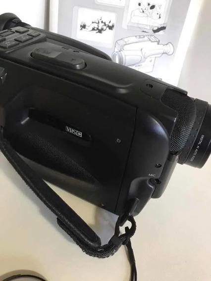 Filmadora Panasonic Vhs Compact Movie Nv S250 Pn C/ Bateria