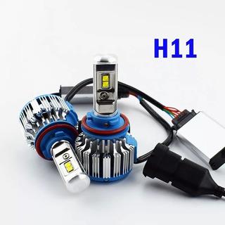 2x Turbo Led H11 Luz Ultra Brillantre 18000 Lumenes