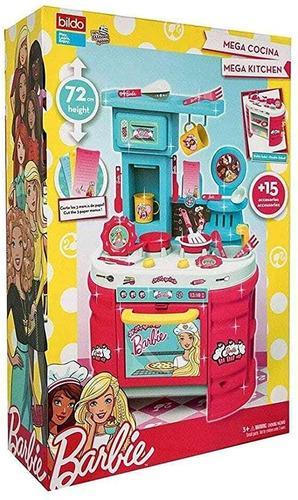 Cocinita Mega Cocina Barbie Multicolor De Bildo Juguete