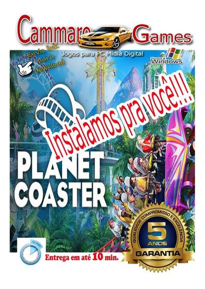 Planet Coaster 2018 + Todas As Dlc