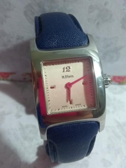 Relógio H.stern Feminino Pulseira Azul
