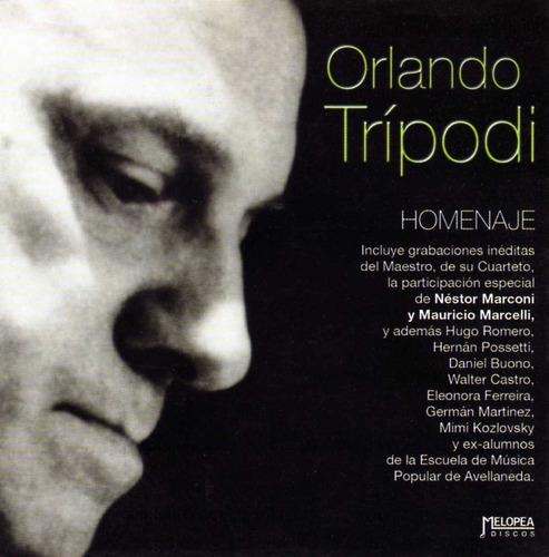 Orlando Trípodi - Homenaje - Cd