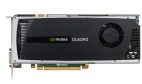 Placa De Vídeo Nvivia Quadro 4000 / 256 Bits 2gb Pci´e Gddr5