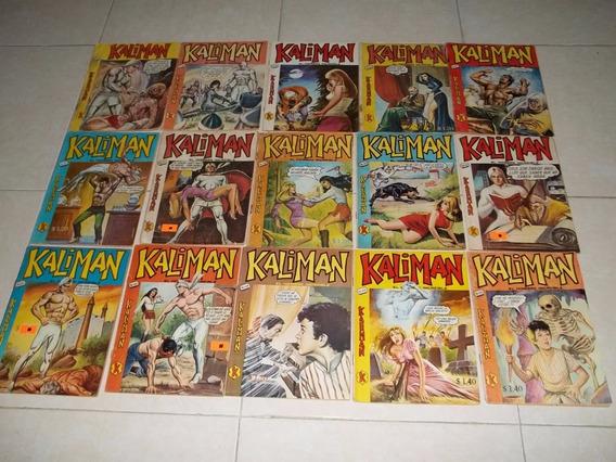 Comics Kaliman Tamaño Mediano Primera Epoca