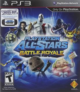 Playstation All-stars Battle Royale Nuevo Sellado Juegos Ps3