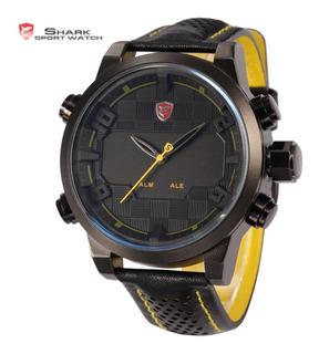 Reloj Shark Sawback Angel - Led Acero - Distribuidor Oficial