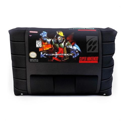 Cojín Super Nintendo Killer Instinct 30x20cm Vudú Love