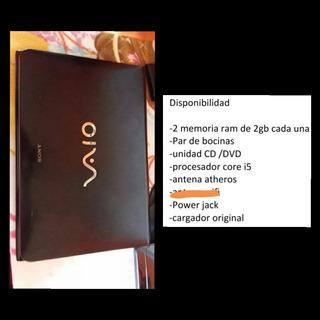Laptop, Sony Vaio, Modelo: Sve14aa12u, Por Partes