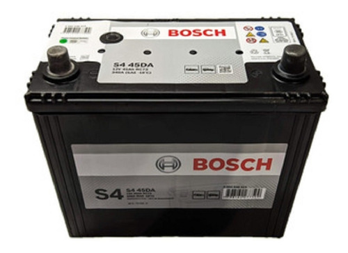 Imagen 1 de 5 de Bateria Bosch 12x45 S4 45da Asiatica Honda Crv Hrv Accord