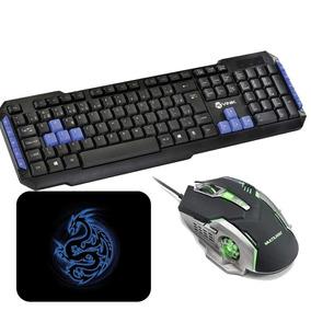 Teclado Vinik Gamer Mouse Mo269 Multilaser Mousepad Speed