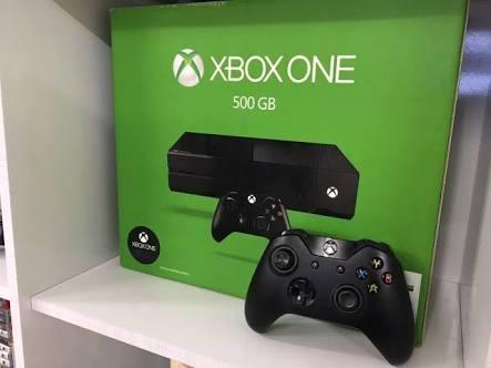 Xbox One 500g, Um Controle, E Mais Um Jogo, Rainbow Six Sieg