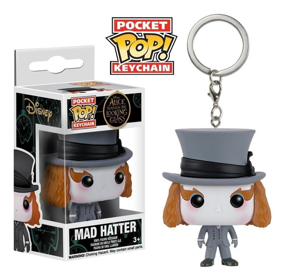 Chaveiro Funko Pop Keychain Alice - Mad Hatter
