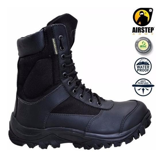 Promoção Bota Airstep 8625-1 Upon Armor Preto - Impermeável E Antiperfuro