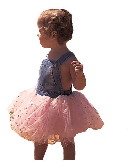 Vestido Tutú Para Niña