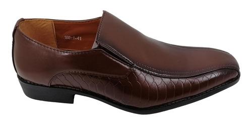 Imagen 1 de 2 de Zapatos De Hombre 188-1 Brown