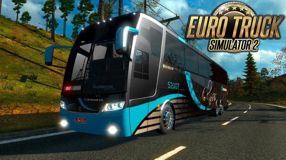 Euro Truck Simulator 2 Brasil Mod Bus + Mapa Brasil