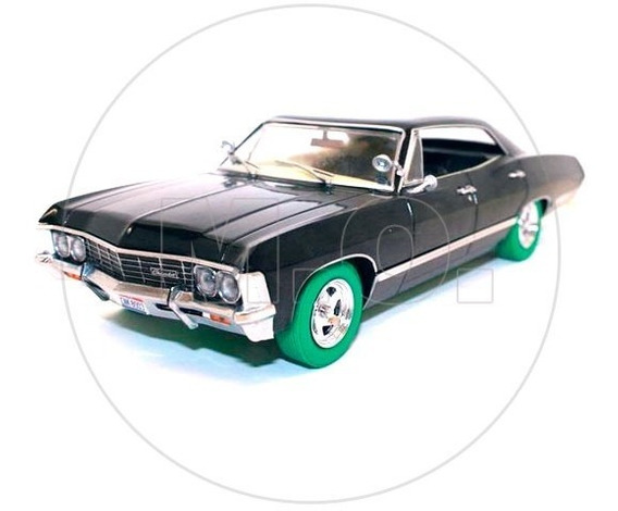 1:24 - Greenlight Chevrolet Impala Sedan 1967 Supernatural