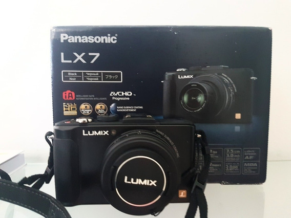 Panasonic Lumix Lx7 Lente Leica 1.4-2.3 Video 60fps Na Caixa