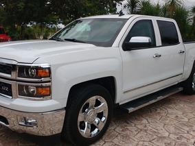 Chevrolet Cheyenne Blindaje Iv Plus Ltz 4x4 2014 Blanca