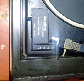 Vitrola Gradiente System 106 Para 5 Discos