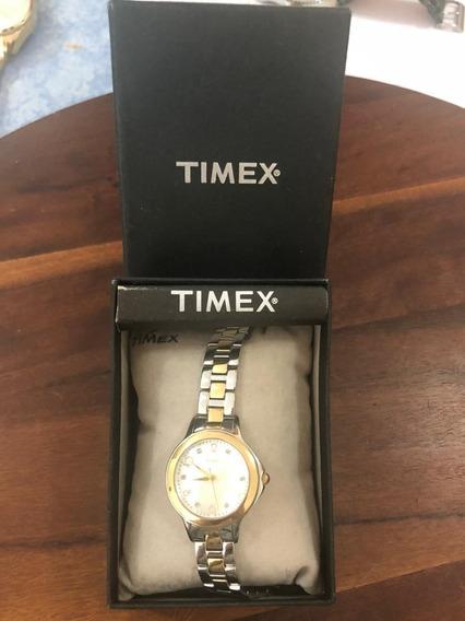 Relógio Timex - Feminino - Com Madre Pérola E Diamantes