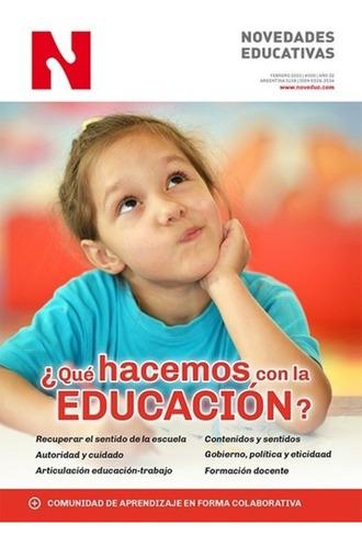 Revista Noveduc 350 Qué Hacemos Con La Educación (ne)