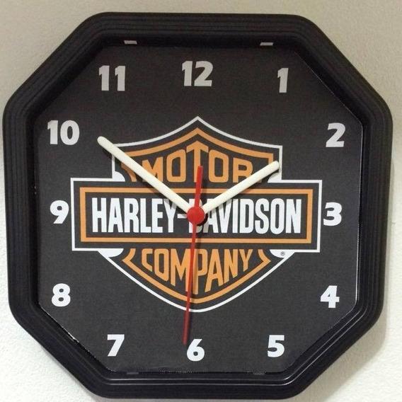 Relógio Personalizado Harley Davidson