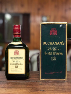 Scotch Whisky De Luxe Buchanans 12 Años. Añejado +25 Años
