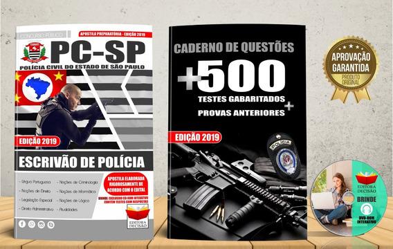 Polícia Civil São Paulo Escrivão - 2019