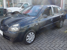 Clio Sedan 1.0 Expr 2005 Completo - Ar, Air Bag, Cd, Placa A