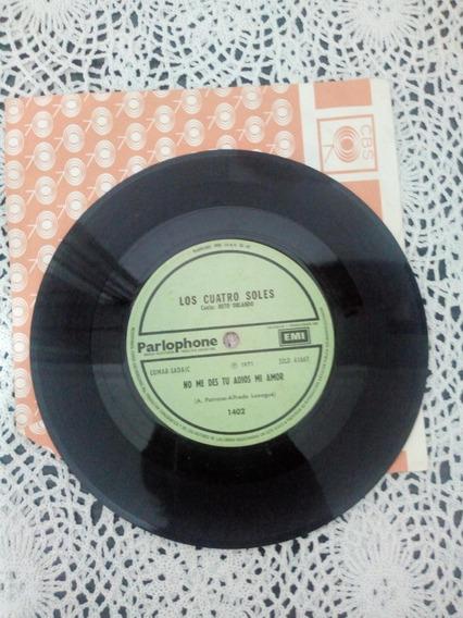 Los Cuatro Soles Con Beto Orlando (disco De Vinilo Simple)
