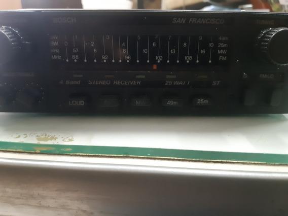 Som Automotivo Antigo Bosch San Francisco Am/fm Só Rádio
