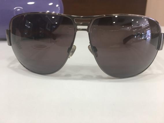 Óculos De Sol Benetton 7400 Aviador Marrom Unissex