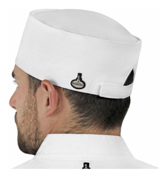 Gorro Para Chef Liso C55 Unisex Permachef