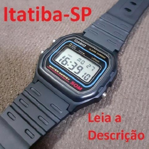 Relógio Casio W-59-1vq Original - A Prova D