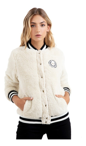 Campera Mujer Rusty Teddy Bomber
